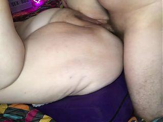 Close-up fucking – cumshot - Mature BBW Granny, Real Couple TnD