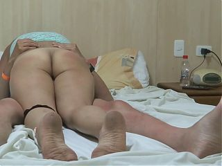 My wife on the beach shows off, masturbates, fucks, cums