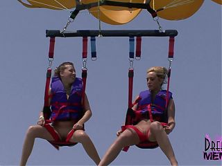 Home Video Naked Parasailing With Three Wild Spring Breakers