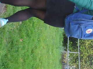 Candid Pantyhose short skirt